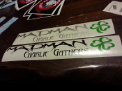 MADMAN CHARLIE GATHERS DECAL