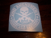 2ND AMENDMENT AMERICA'S ORIGINAL HOMELAND SECURITY DECAL