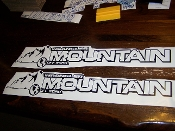 JEEP WRANGLER MOUNTAIN OFF ROAD HOOD DECAL SET