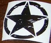 JEEP FREEDOM EDITION OSCAR MIKE STAR VINYL DECAL STICKER