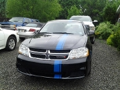 DODGE AVENGER VINYL RACING STRIPE KIT