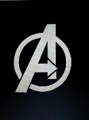 AVENGERS LOGO VINYL DECAL STICKER CHOOSE COLOR AND SIZE