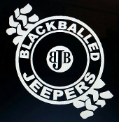 BLACKBALLED JEEPERS VINYL DECAL STICKER