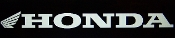 HONDA WINDOW DECAL WITH LOGO CHOOSE SIZE & COLOR