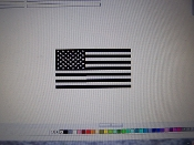AMERICAN FLAG VINYL DECAL STICKER