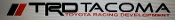 TRD TACOMA WINDSHIELD VINYL DECAL BANNER CHOOSE SIZE & COLOR