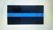 POLICE & LAW ENFORCEMENT BLUE LINE DECAL