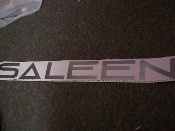 SALEEN WINDSHIELD DECAL BANNER STICKER CHOOSE COLOR AND SIZE