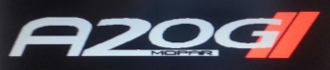 A2OG WINDSHIELD / WINDOW BANNER STICKER DECAL CHOOSE 2 COLORS