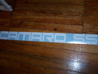 CAMARO SS WINDSHIELD / WINDOW DECAL STICKER CHOOSE COLOR & SIZE