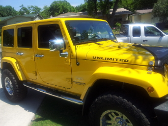 JEEP UNLIMITED HOOD DECALS WRANGLER JK TJ