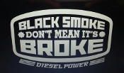 DIESEL POWER VINYL DECAL STICKER CHOOSE SIZE & COLOR