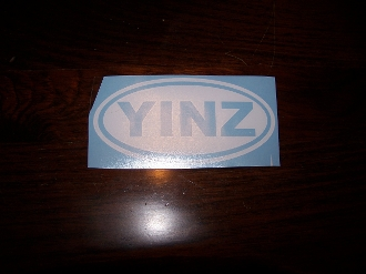 YINZ PITTSBURGH LOCATION IDENTITY VINYL DECAL STICKER