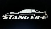 1999-2004 STANG LIFE WINDOW BANNER STICKER DECAL CHOOSE COLOR