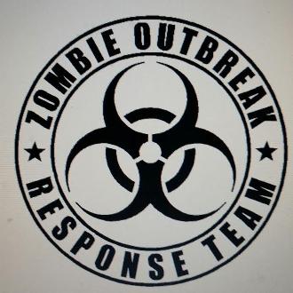 ZOMBIE RESPONSE TEAM VINYL DECAL STICKER THE WALKING DEAD