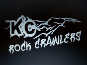 KC ROCK CRAWLERS MEMBER DECAL