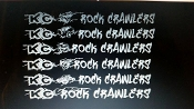 KC ROCK CRAWLERS MEMBER WINDSHIELD DECAL