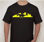 PITTSBURGH MUSTANG CLUB T-SHIRT CHOOSE SIZE