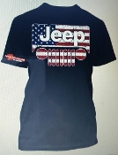 JEEP AMERICAN FLAG T-SHIRT CHOOSE SIZE
