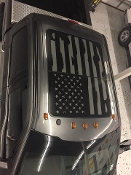 FORD F-150 DISTRESSED AMERICAN FLAG FOR ROOF GLASS PANEL F250